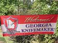 GCKG Welcome Banner s    Photo by Scott Davidson, 2011 Summer GCKG Meeting at his shop.