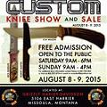 Montana Knifemakers Association Knife Show