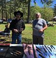 Batson's blade show  James McClendon and George Ezell